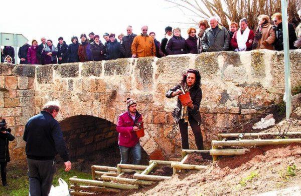Gente colaborando en Tordomar